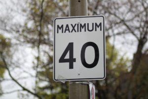 Letter from Mayor Haynes re initiative to lower speed limits